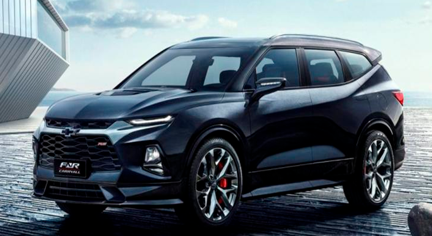 Chevrolet Blazer XL pode chegar ao Brasil